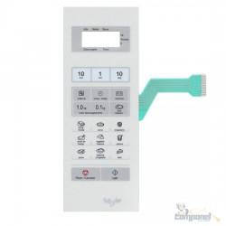 Teclado De Membrana Microondas Panasonic Nn Sf560 Style